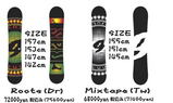 Gras-I snowboards