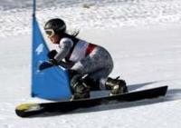 世界選手権初代表の佐藤の滑り