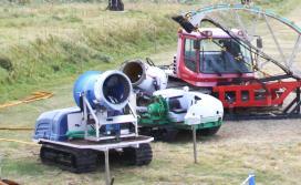 びわ湖バレイ「冬のマシン展」