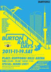 BURTON RAIL DAYS