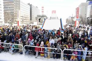 白い恋人 presents 雪まつりストレートジャンプ大会