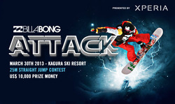 BILLABONG ATTACK presented by Xperia 2013