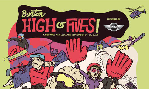 BURTON-HIGH-FIVES