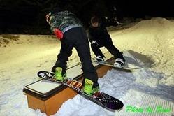 六甲山〈人工〉スキー場 1月16日(水)よりスノーボードパークを開設!