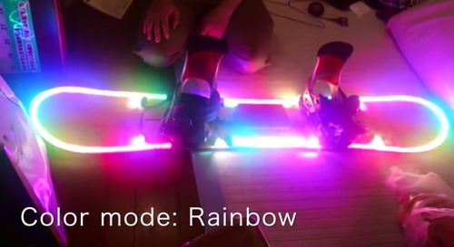 LED Snowboard3