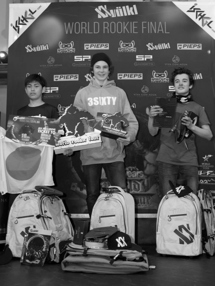 Grom boys podium - pic by Gustav Ohlsson
