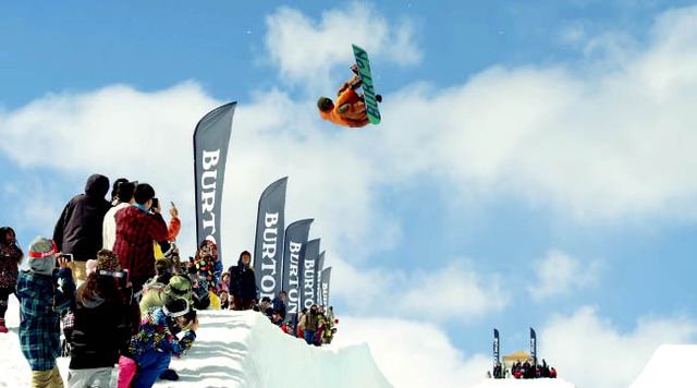 BURTON SUPERPIPE SESSIONS 2016