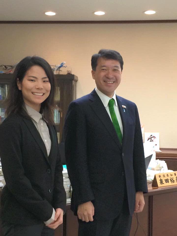 佐藤夏生と知事