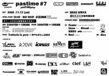 PLAYDESIGN presents『pastime#7 joinTHEplay 』