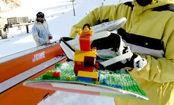 LEGOのスノーボードを作って滑ろう企画!?/Every Third Thursday