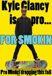 Clancy Is Smokin