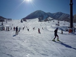 北信州の2スキー場がタイアップ、エリア有数のゲレンデ規模に