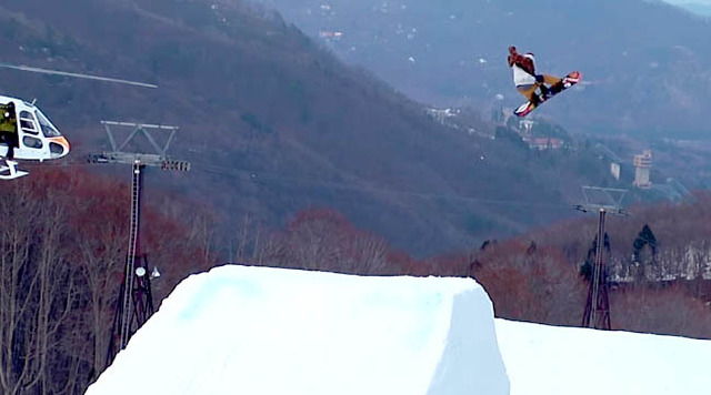 Hakuba47 Aerial session