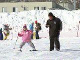 正月休み最終日・スキー場にぎわう