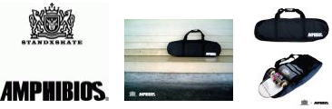 ■STANDXSKATE ×AMPHIBIOS■SKATEBOARD BAG「TRAILER」