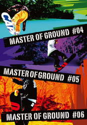 MASTER OF GROUND #4-#6ジャケット