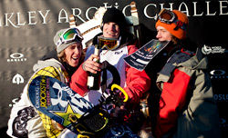 Chas Guldemond & Jamie Andersonが優勝! /The Oakley Arctic Challenge 2011