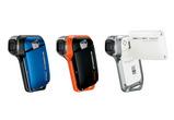 SANYOよりウィンタースポーツにも最適の完全防水タイプのムービーカメラ