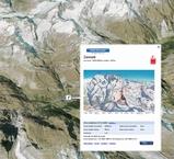 Google Earthでスキー場の雪の状態をチェック