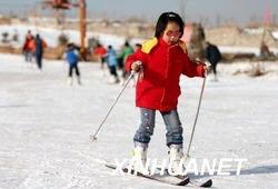 中国で最も緯度が低いスキー場、正式オープン