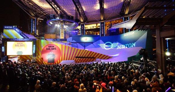BurtonRailDays-stage