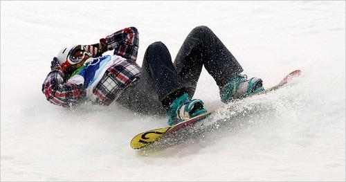 スノーボードにおける脳震盪