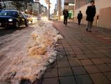 雪の少ない札幌市内。昼間は暖かい日が多い=札幌市中央区で5日午後4時37分、尾籠章裕写す(毎日新聞)