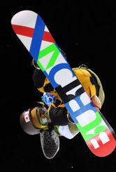 スノーボード男子ハーフパイプで8位の国母=サイプレスマウンテンで2010年2月17日、須賀川理撮影