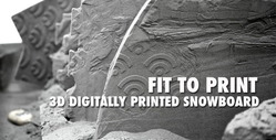 ETT: The worlds first 3D printed snowboard