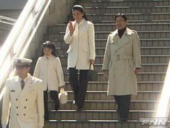 皇太子ご一家、静養のため長野県のスキー場に滞在される