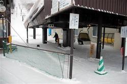 今季限りでの休止が検討されている後志管内蘭越町のチセヌプリスキー場