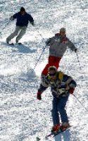かぐらスキー場 新雪、滑り心地格
