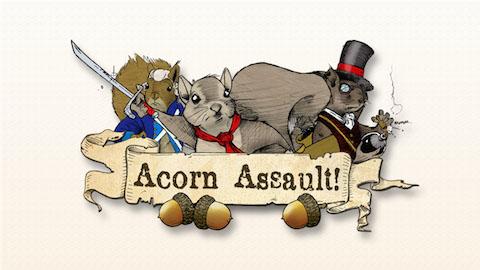 GAME:「Acorn Assault」トレーラームービーが公開