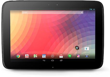 Android:「Nexus 10」新型モデルのプレス画像が流出