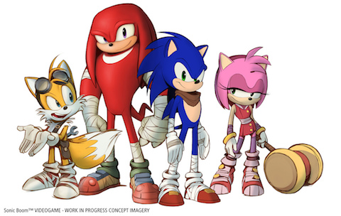 GAME:「Sonic Boom」発売決定 トレーラームービーが公開