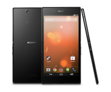 Android:「Sony Z Ultra Google Play Edition」ビデオレビューが公開