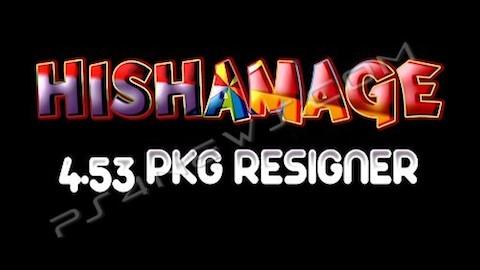 GAME:「Hishamage 4.53 PKG Resigner」リリース ー PS3 Hack