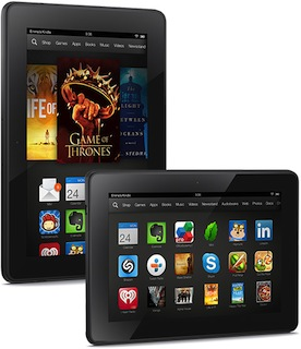 Android:「Kindle Fire HDX」「Kindle Fire HDX 8.9」正式発表
