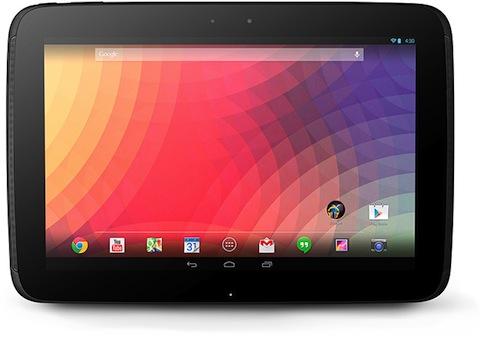Android:「Nexus 10」新型モデルは、ASUS製であることが判明