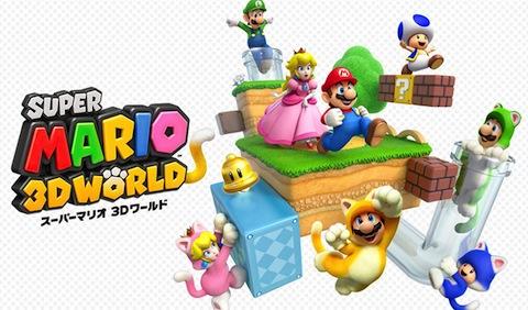 GAME:「スーパーマリオ 3Dワールド」海外レビューが公開 ー ハイスコアは100ポイント