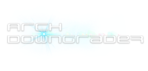 GAME:「CFW ARCH DOWNGRADER v1.00」リリース ー PS3 Hack