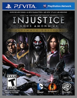 GAME:「Injustice: Gods Among Us Ultimate Edition」11月12日に発売決定
