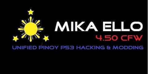 GAME:「CFW 4.50 MIKA ELLO (CEX)」リリース ー PS3 Hack