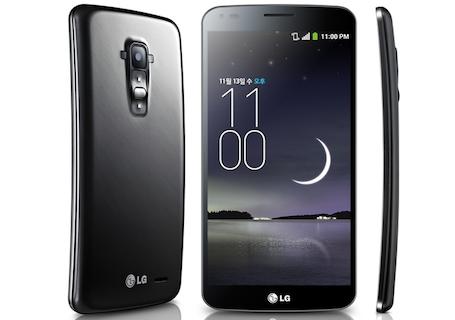 Android:「LG G Flex」本体も折り曲げられることが判明