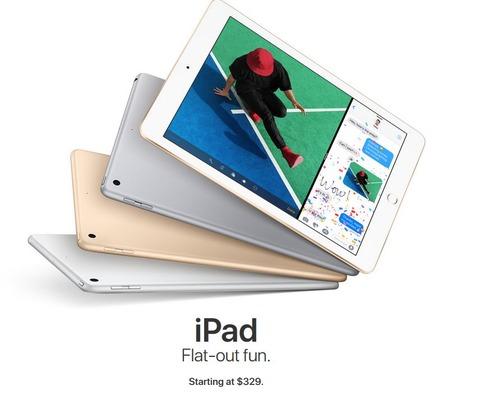 新型iPadをポチる