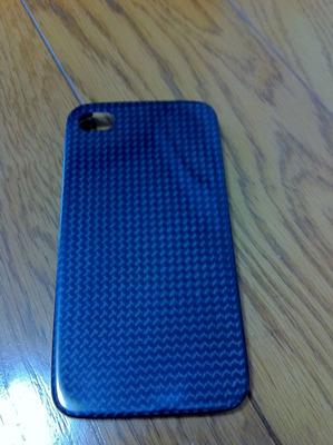 monCarbone iPhone4 case 背面