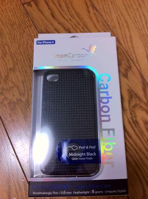 monCarbone iPhone4 case