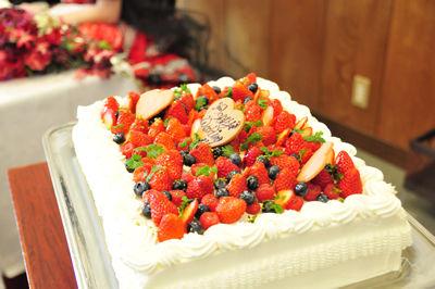 ポモドーロのスペシャルケーキ!