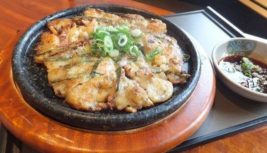海鮮チヂミ
