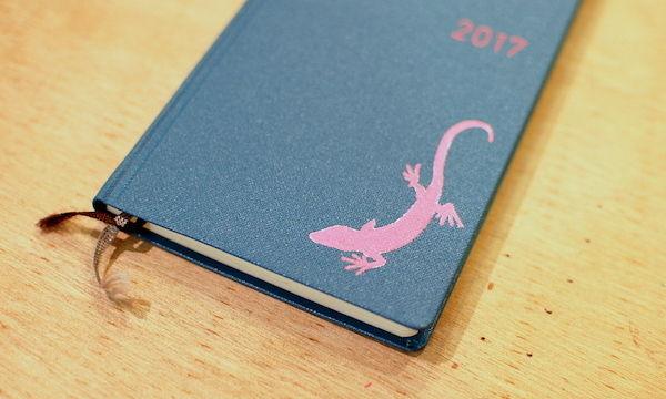 タペタペイントさんによる、ほぼ日手帳WEEKSカスタマイズ